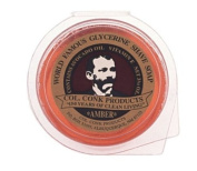 Col. Conk World's Famous Super Bar Shaving Soap - 110ml, Amber-Made in USA
