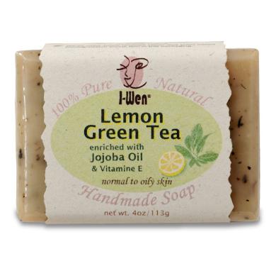 I-Wen Lemon Green Tea Handmade Soap - 120ml (113g)