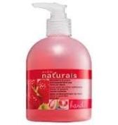 Avon Liquid Hand Soap Strawberry Naturals Pump Bottle Sink
