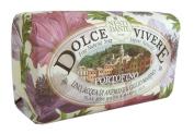 Dolce Vivere Fine Natural Soap - Portofino - Flax, Rose Water & Marine Lily, 250g260ml