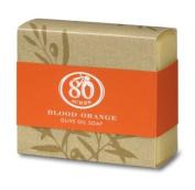 Blood Orange Olive Oil Soap 153 g by 80 Acres
