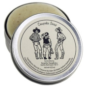 Cowpoke Soap - 100% Natural & Handcrafted, in Reusable Travel Gift Tin