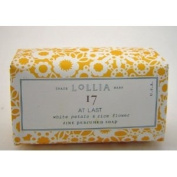 LoLLIA AT LAST No. 17 White Petals & Rice Flower Fine Perfumed Bar Soap