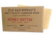 Honey Butter (2 Bars) Shea, Honey, Oats Organic Soap