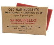 Sanguinello (2 Bars) Blood Orange & Bergamot Organic Soap