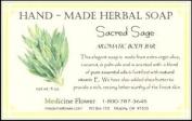 Soap Sacred Sage Natural Soap by Medicine Flower