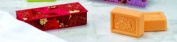 Commonwealth Soap & Toiletries San Francisco Soap Gift Box, Blood Orange