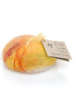 Lemon Zest (formerly Calendula Citrus) Felted Soap 1 bar by Fiat Luxe