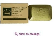 Bar Soap, Indian Hemp, 150ml