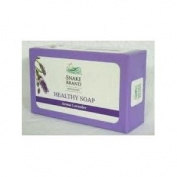 Snake Brand Natural Cool Healthy Soap Aroma Lavender 100g