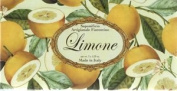 Saponificio Artigianale Fiorentino Yellow Limone Soap Set 3 X 160ml From Italy