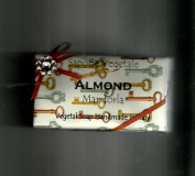 Alchimia Ladybug or Rhinestone Almond Handmade 310ml Soap Bar From Italy, Paper Wrappings vary