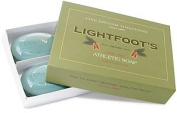 Lightfoot's Pure Pine Gentlemen's Athletic Soap - 4 Bar Boxed Set
