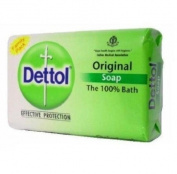 Dettol Original Soap India Large, 120 Grammes, 12 Count
