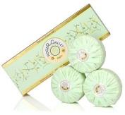 Roger & Gallet Green Tea Boxed Soap Set - 3 x 100ml