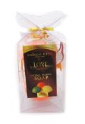 Mini Thai Natural Herbal Herb Orange Bar Soap Beauty Skin Care Madame Heng