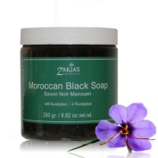 "Moroccan ""Beldi"" Black Soap with Eucalyptus"
