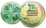 Hawaiian Bubble Shack Loofah Glycerin Soap Gardenia 4 Bars