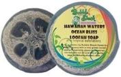 Hawaiian Bubble Shack Loofah Glycerin Soap Ocean Bliss 4 Bars