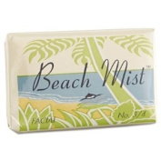 Beach Mist Face and Body Soap, Foil Wrapped, Beach Mist Fragrance, 20ml Bar