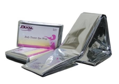 Dukal Body Toaster Spa Wrap - Latex Free (132.1cm x 213.4cm )