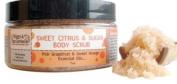 Biggs & Featherbelle Body Scrub, Sweet Citrus and Sugar, 210ml