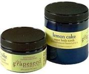 Body Scrub - Lemon Cake By the Grapeseed Co 240ml