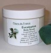 Eucalyptus Body Scrub from Fleurs de France [12 oz]