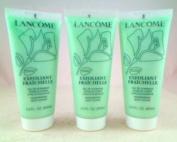 Lancome Exfoliant Fraichelle Invigorating Body Scrub- 60ml Travel Size - Lot of 3