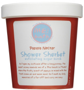 ME! Bath Shower Sherbet Sugar Scrub-Papaya Nectar-16 oz.