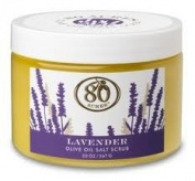 80 Acres Lavender Salt Scrub