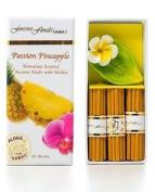 PASSION PINEAPPLE INCENSE W/ CERAMIC HOLDER - HAWAIIAN GIFT BOX SET