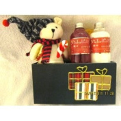 Christmas Bear Shower Gel and Lotion Set