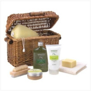 Healing Spa Bath And Body Products Therapy Gift Basket