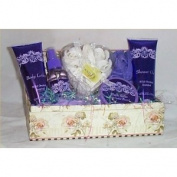 Gift Basket Wild Orchid Bath Lotion Spa Bath Shower Gel Any Occasion