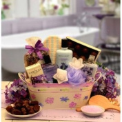 Bath & Body Tranquilly Spa Gift Basket for Her
