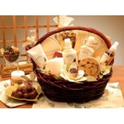 Vanilla Bliss Spa Gift Basket GiftBasketsAssociates Spa Gifts for Her