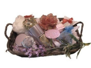 Castle Baths - Thank You- Pampering Bath Spa Gift - Geranium Rose Sage