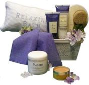 Stress Less Spa Gift Basket