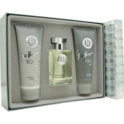 Touch With Love By Fred Hayman For Men. Set- Eau De Toillette   Spray 100ml & Aftershave Balm 200ml & Shower Gel 200ml