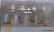 Forever Florals Hawaii Assorted 4-Pack Cologne Set with Rollerball Applicator