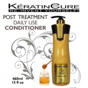 KERATIN CONDITIONER AFTER-CARE POST CONDITIONER GOLD & HONEY KERATIN CURE 960ml with Argan Oil