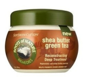SoftSheen-Carson Roots of Nature Reconstructing Deep Treatment, Shea Butter, Green Tea, 300ml