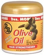 BB Olive Oil Hair Strengthener W/ Shea Butter & UV Protection, 180ml