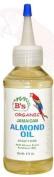B's Organic Jamaican Almond Oil Scalp Food 120ml