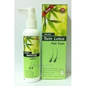 Twin Lotus Thai Herbal Hair Tonic Hair Fall Dandruff Itching 100ml.,
