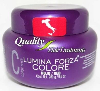 Tec Italy Colour Care - Lumina Forza RED / ROJO - Colour Treatment Booster 290ml - 280 g