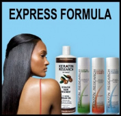 Global Complex Brazilian Keratin Hair Treatment 4 Bottles 1000ml Kit. Includes Sulphate Free