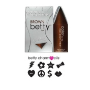 BETTY BEAUTY Colour for the Hair Down There - Brown Betty with Charmcils Mini Kit Collection