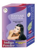 Hannah Natural 100% Pure Indigo Powder for Hair Dye, 100 Gramme